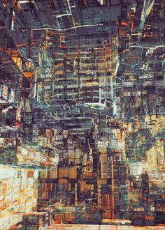 MEGA STRUCTURE by atelier olschinsky , via Behance
