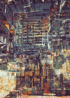 MEGA STRUCTURE by atelier olschinsky , via Behance