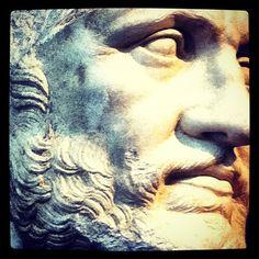 @helixduplo Getty Villa: Bearded Man (Taken with instagram)