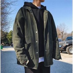 Stylish Mens Outfits, Cute Casual Outfits, Boy Outfits, Fashion Outfits, Raining Men, Vintage Jacket, Grunge Outfits, Streetwear Fashion, Aesthetic Clothes
