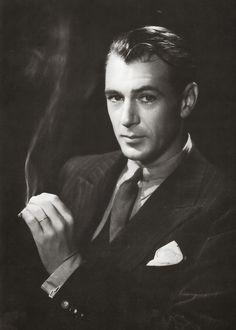 60 Gary Cooper | Gary Cooper photographié par Bert Stern, 1960.