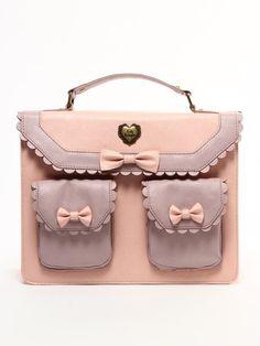 *pink and lavender bow handbag*