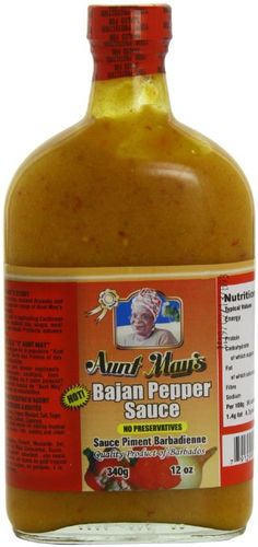 Bajans add pepper sauce to just about everything!