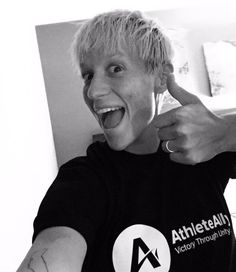I'm an @AthleteAlly because....I'm gay as Christmas!!! thanks to @lauraclise for the new rags!!