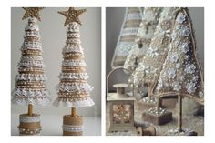 Ladder Decor, Chandelier, Ceiling Lights, Home Decor, Hobby, Christmas Trees, Mousse, Ideas, Home
