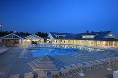 Brunswick Forest Outdoor Pool Water Aerobics, Retirement Ideas, Forest House, Wellness Center, Wellness Fitness, Outdoor Pool, Logan, North Carolina, New Homes