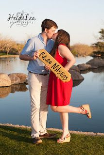 Adorable engagement pic