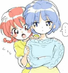 Fan Art of Akane Tendo & Ranma-chan for fans of Ranma 33456763 Anime Kawaii, Noragami, Inuyasha, Tsundere, Ranma Y Shampoo, Illustrations, Illustration Art, Ghibli, Conan
