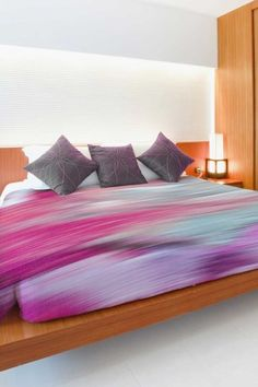 Oliver Gal by One Bella Casa Prelude Multi Duvet Cover by Lightning E-Commerce on @HauteLook