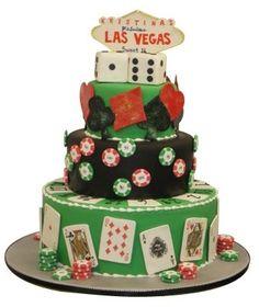 Casino Theme Cake =)