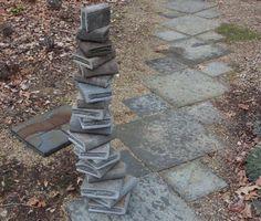 Stone Books Stone Occurrence art sculpture landscape design