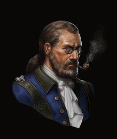 Portrait, Tadas Sidlauskas on ArtStation at https://www.artstation.com/artwork/8r3n6