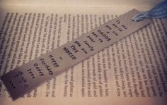 UK based seller. Personalised bookmark perfect for Father's Day or teacher. £12