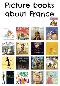 This fall we studied France, and our library had a plethora of France books for kids. So many in fact that I hit my check out limit. Find out our favorites Books For Boys, Childrens Books, France For Kids, Good Books, Books To Read, Kids Reading, Reading Club, Reading Library, Reading Nook