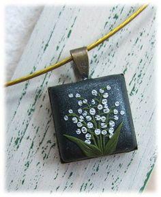 Flower Jewelry Lily of the valley Jewelry Flower by Floraljewel