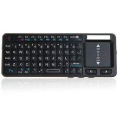 $22.49 UKB-106-BT Portable Compact Wiredrawing Ultra-thin Bluetooth Wireless Mini Keyboard -Black