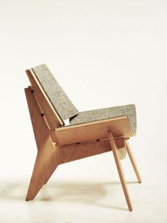 2 designers, 2 cadeiras: Poltrona Gaia + Label Chair | Casa-Atelier