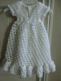 Baby Blessing / Christening Dress by BabySewSoft on Etsy