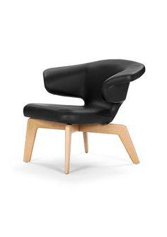 munich lounge chair fauteuil noir en noir de classicon camila lounge chair 07