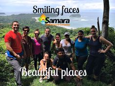 Enjoy to breath and explore the magical dry forest. Samara, Smile Face, Costa Rica, Beautiful Places, Tours, Activities, Explore, Adventure, Beach