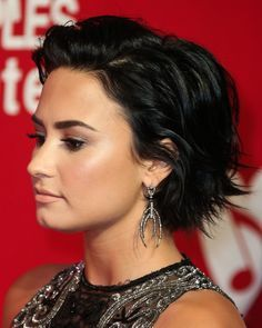 demi lovato hair bob - Google Search