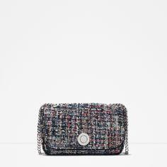 TWEED MESSENGER BAG | ZARA created by #ShoppingIS