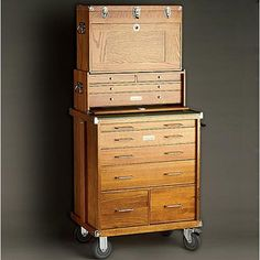 Gerstner Wood Tool Chest. Need it.