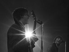Throwback Thursday: Intimate Portraits of the Beatles, Revived After 50 Years in the Dark | Paul McCartney, John Lennon.  2/11/64.  Mike Mitchell courtesy of DCPL  | WIRED.com