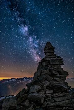 Cairns on the top - TomFear Photo Illustration, Illustrations, Arnold Schwarzenegger, Cairns, Sculpture Art, Mountains, Photography, Image, Beautiful