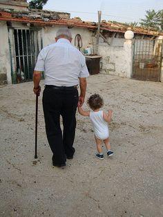 portami per mano - nonno Angelo e Giorgio