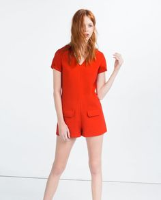 Pin for Later: This Is the July 4 Look You'll Repeat All Summer Long — and It's Under $100  Zara Short Jumpsuit ($50)