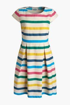 3d2d286a8b New seasalt rosina nautical manderley multi stripe summer tea skater dress