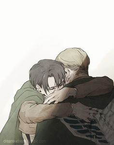 """Levi, let's save humanity together."""