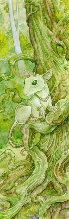 Mouse Dryad by `ursulav on deviantART