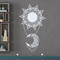 Resultado de imagen para decorado con mandalas en pared