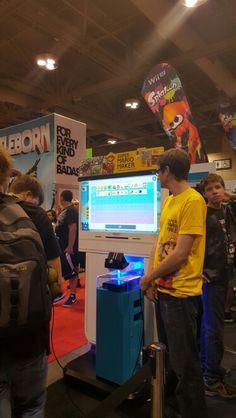 #fanexpo Arcade Games, Toronto, Mario, Fan, Hand Fan, Fans