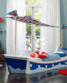 Photo idée déco chambre garçon 2 3 4 5 6 7 8 ans thème cirque enfant ...