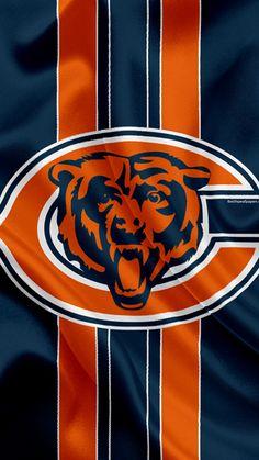 Chicago Football, Football Team Logos, Bears Football, Nfl Chicago Bears, Chicago Usa, American Football League, National Football League, Chicago Bears Wallpaper, Chicago Bears Pictures