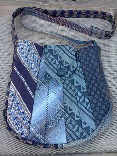 Mens neck tie purse