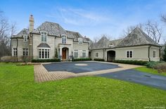 For sale: $3,250,000. STUNNING French Country estate home blt in 2008 will take your breath away! Perfect for fastidious, high-profile buyer(s) who likes to entertain! Highest-end North Shore quality upgrades you could ever imagine! Located on a private, mature/wooded/no-outlet street, offering 1.9 acres of land. EZ commute to downtown & airport. No detail or upgrade has been spared. Over $600K spent on recent improvements, making this home a one of a kind. 6 BR's w/own...