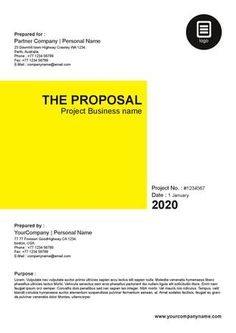 10 Best Tender & Proposal Layouts Images Layouts