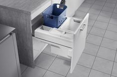 Buy Hafele pull out laundry basket 60 online from Handles And More store. It is an ideal solution for laundry storage.