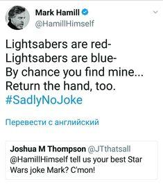 Haha love mark hamill