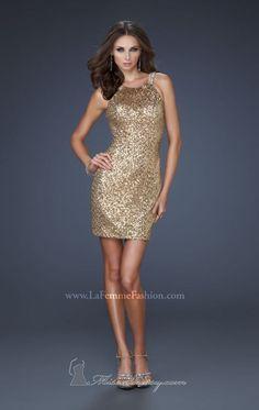 La Femme 17020 Dress - MissesDressy.com