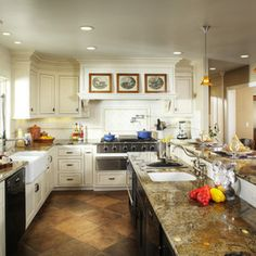 traditional kitchen by Debbie R. Gualco