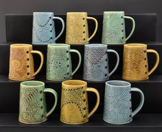 Coffee/Tea Mug: Charan Sachar: Ceramic Mug | Artful Home