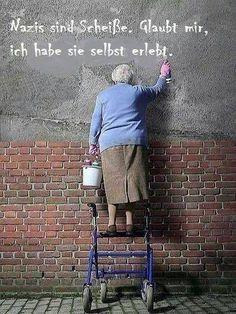 #nazis sind scheiße...
