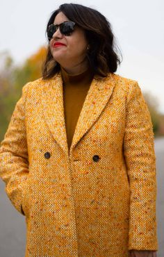 JCREW daphne tweed topcoat, fall outfits, women over 40
