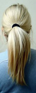 How to Make Your Own Ponytail Holders