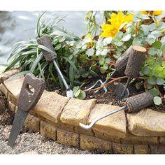Wooden Handled Garden Tools  -  Earth Fairy
